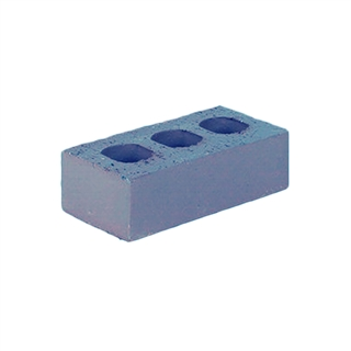 73mm Class B Blue Perforated Engineering Brick