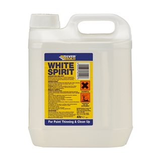 Everbuild White Spirit 4 Litre