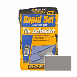 Everbuild 705 Rapid Set Tile Mortar 10kg