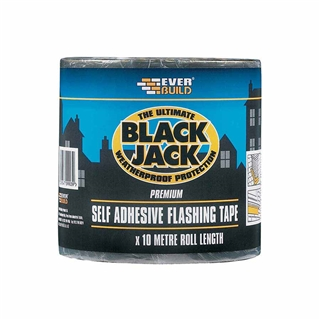 Everbuild 909 Black Jack Flashing Roll 150mm x 10m