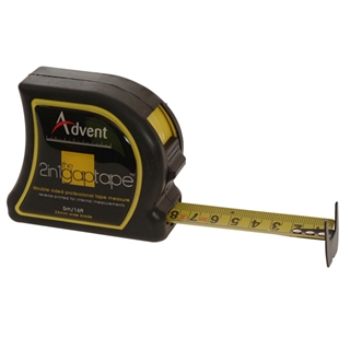Advent 2-in-1 Gap Tape - Double Sided 5m (16') 25mm Blade