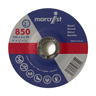 Marcrist 850 Stone Grinding Disc 115mm x 6mm x 22.2mm