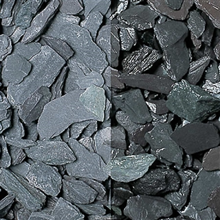 Blue Slate Chippings 20mm Polybag