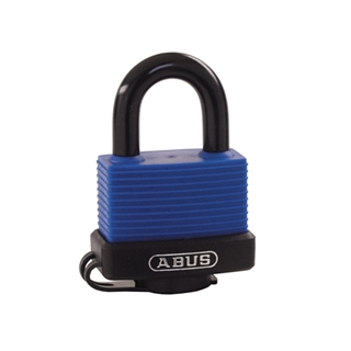 Abus 70IB/45 45mm Brass Marine Padlock Stainless Shackle Carded