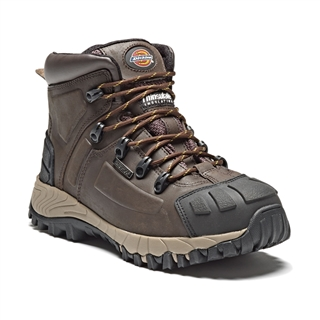 Size 10 Dickies Medway Super Safety Hiker S3 Brown