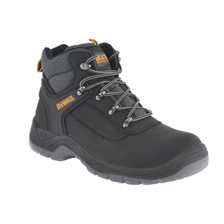 DeWalt Laser Hiker Safety Boots Black Size 9
