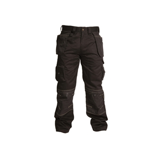 Apache Black Holster Trousers 38W 31L