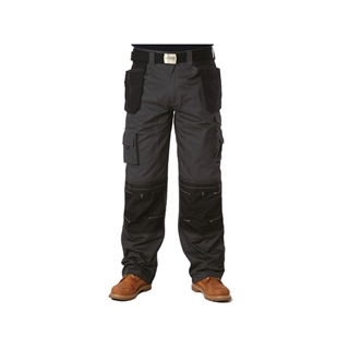 Apache Black & Grey Holster Trousers 36W 31L