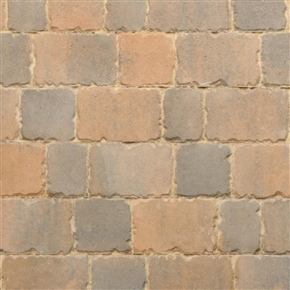 Applesby Antique Paviors 3 Size Project Pack 9.6m² Burnt Ochre