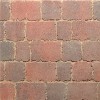 Applesby Antique Paviors 3 Size Project Pack 9.6m² Brindle