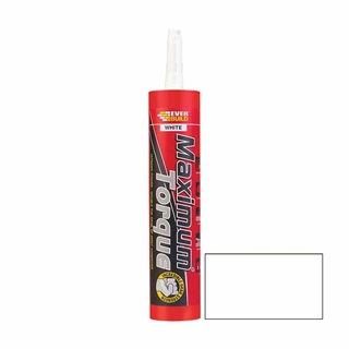 Everbuild Maximum Torque White 300ml