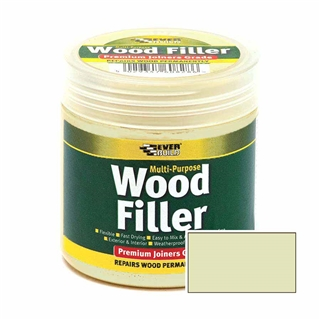 Everbuild Multi-Purpose Wood Filler Light Stainable 250ml