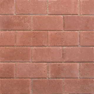 Ryton Pavedrive Block Paving 200mm x 100mm x 60mm Red
