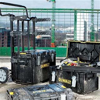 Toughsystem Trolley & 3 DS Tool Boxes
