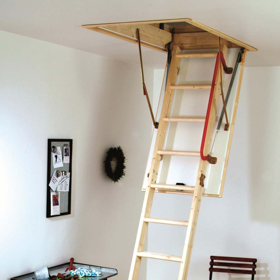 Folding stairs to loft top bessler folding attic stairs model pulleys with folding stairs to - Folding stairs to loft plans ...