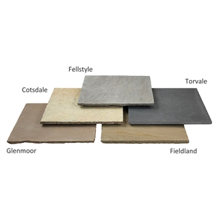 Trustone Paving 5 Size Project Pack 11.7m² Fieldland