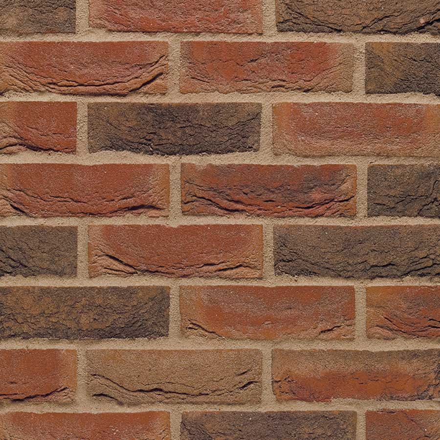 65mm Terca Loxley Red Multi Facing Brick