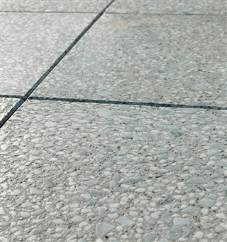 Opera Brushed Paving 400mm x 400mm x 35mm Silver Grey