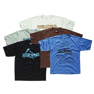 "Dickies Assorted T Shirts Size L 44-46"" (Pack of 5)"