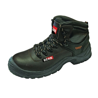 Size 11 Lynx Safety Boots S1P Brown