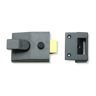 Yale Standard Style Deadlocking Night Latch 60mm Satin Chrome