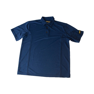 Roughneck Quick Dry Polo Shirt Blue Size M