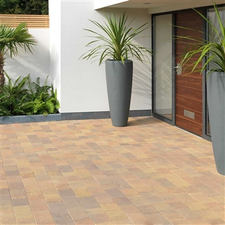 Avenu Block Paving 120mm x 160mm x 50mm Forest Blend