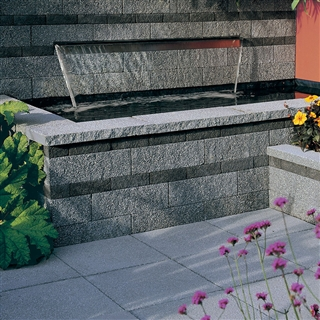 Rio Walling Double Coping 600mm x 272mm x 50mm Silver