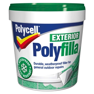 Polycell Multi-Purpose Exterior Polyfilla Ready Mixed 1kg