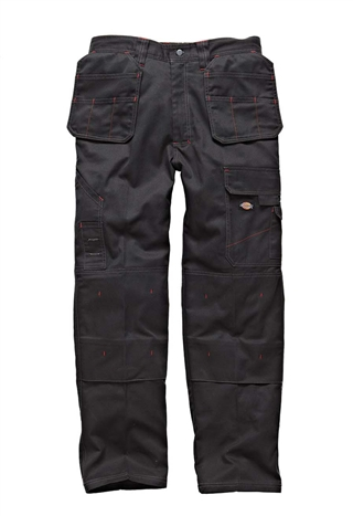 "Dickies Redhawk Pro Trousers Black 38"" Short"