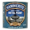 Hammerite Hammered Black Paint 250ml image 0