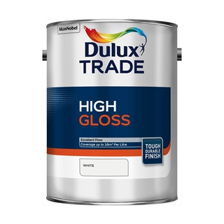 Dulux Trade High Gloss White 5 Litre