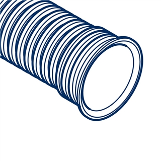 Polypipe Polysewer 225mm 3m Integral Socket Pipe PS1032