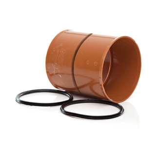 Polypipe Polysewer 300mm Pipe Coupler PS1201