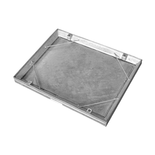 Infill Internal Recessed Tray Manhole Cover 600mm x 450mm x 58mm Depth