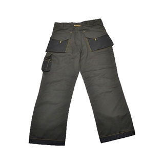 Roughneck Black & Grey Holster Trousers 30W 33L