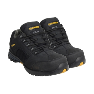 Roughneck Stealth Trainers with Composite Midsole Size 6