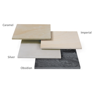 Avant-Garde Paving 4 Size Project Pack 12.2m² Silver