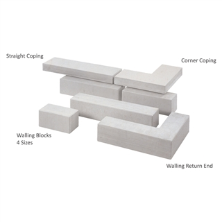Avant-Garde Walling Straight Coping 500mm x 136mm x 50mm Imperial