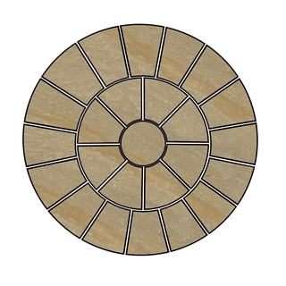 Trustone Radius Paving Circle Kit 2.84m Fieldland