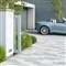 Vecta Linear Block Paving 480mm x 130mm x 80mm Silver Grey image 2