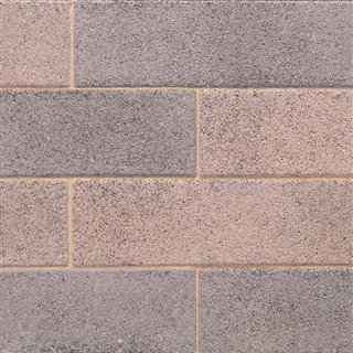 Vecta Linear Block Paving 480mm x 130mm x 80mm Dusted Coral