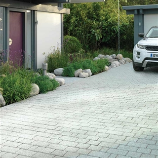 Rio Permeapave Block Paving 3 Size Project Pack 8.06m² Silver