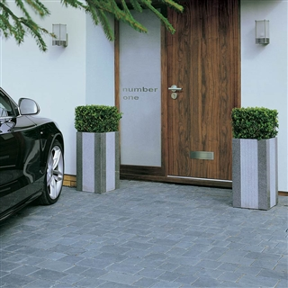 Elemental Paviors 3 Size Project Pack 7.39m² Charcoal