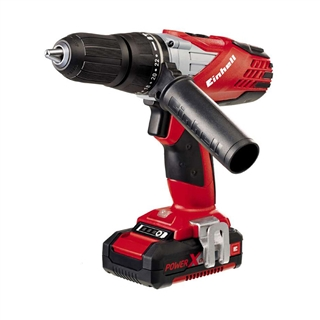 Einhell Power X Change Combi Drill with 18V 1.5Ah Li-Ion Battery