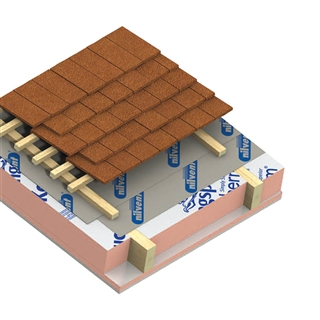 Kingspan Kooltherm K7 Pitched Roof Board 2400mm x 1200mm x 140mm