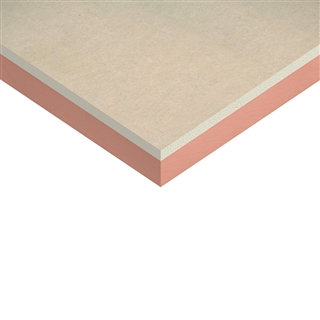 Kingspan Kooltherm K17 Insulated Plasterboard 2400mm x 1200mm x 52.5mm (40mm Insulation with 12.5mm Plasterboard)