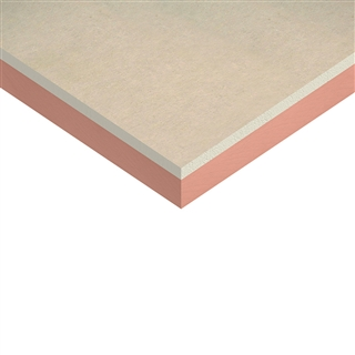 Kingspan Kooltherm K18 Insulated Plasterboard 2400mm x 1200mm x 37.5mm (25mm Insulation with 12.5mm Plasterboard)