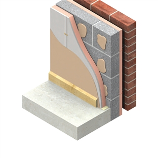 Kingspan Kooltherm K18 Insulated Plasterboard 2400mm x 1200mm x 62.5mm (50mm Insulation with 12.5mm Plasterboard)