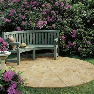 Millstone NEXTpave Paving Circle Kit 1.83m Honey Gold
